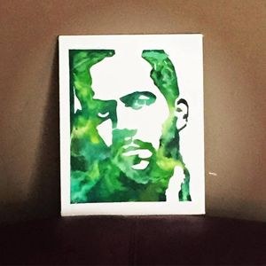 Paul Walker Crayon Art
