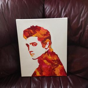 ELVIS CRAYON ART