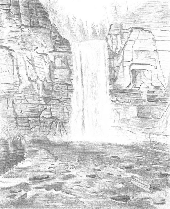 Taughannock Falls - M. Scott Spence Fine Art & Illustration