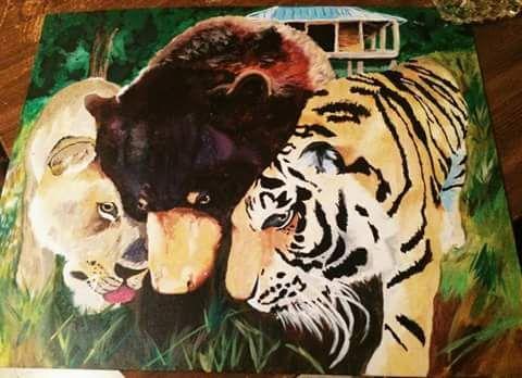 Lion, Tiger, Bear - HaileyChan