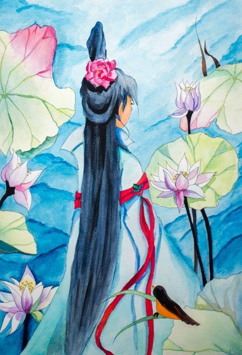 Irelia in Blue - Crystalline
