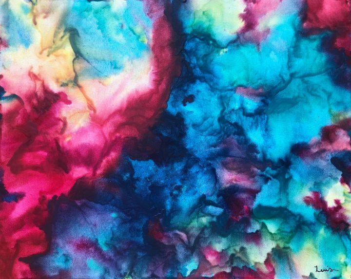 Unci Maka-Grandmother Earth - ColorWorks by Sarah Lewis