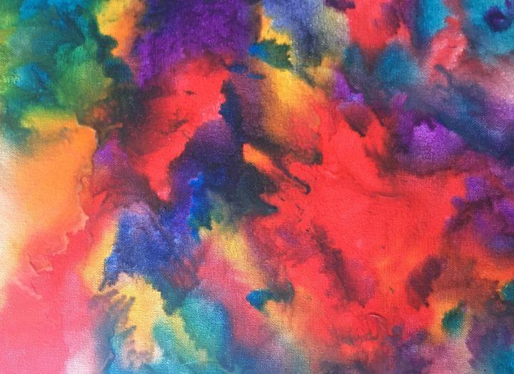 Rainbow Storm - ColorWorks by Sarah Lewis