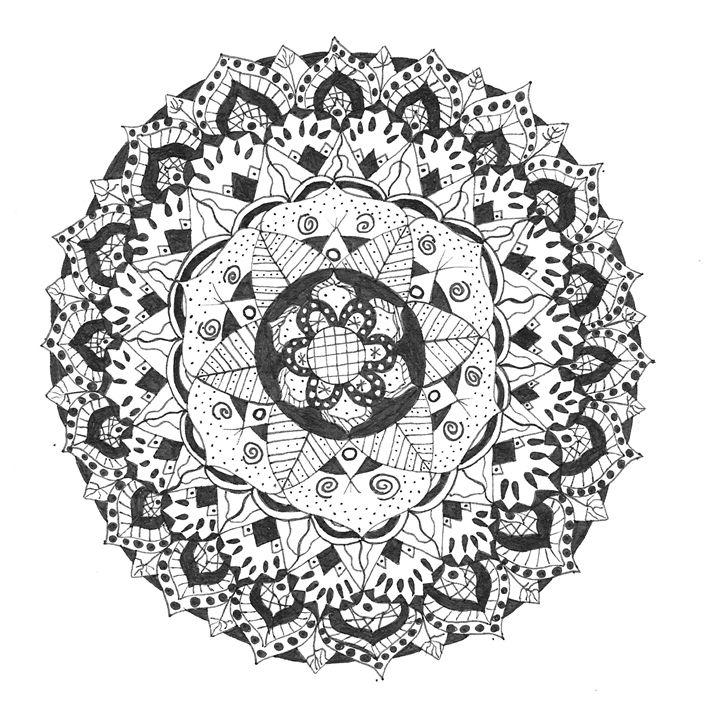 Mandala 3 - Funky Art