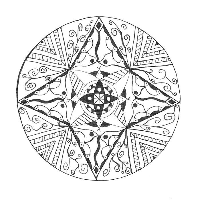 Mandala 2 - Funky Art