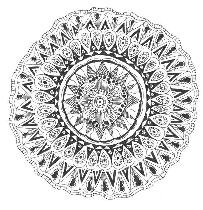 Mandala 1 - Funky Art