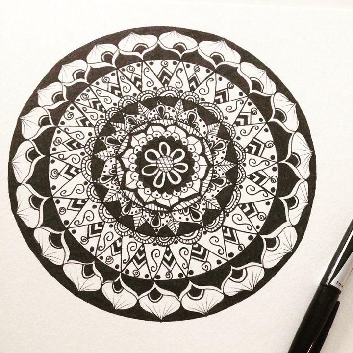 Mandala 5 - Funky Art