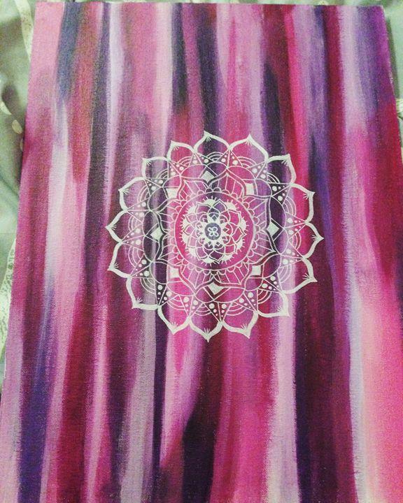 Mandala painting - Funky Art