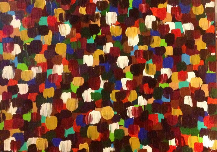 Crowded Space - Kolene Parliman