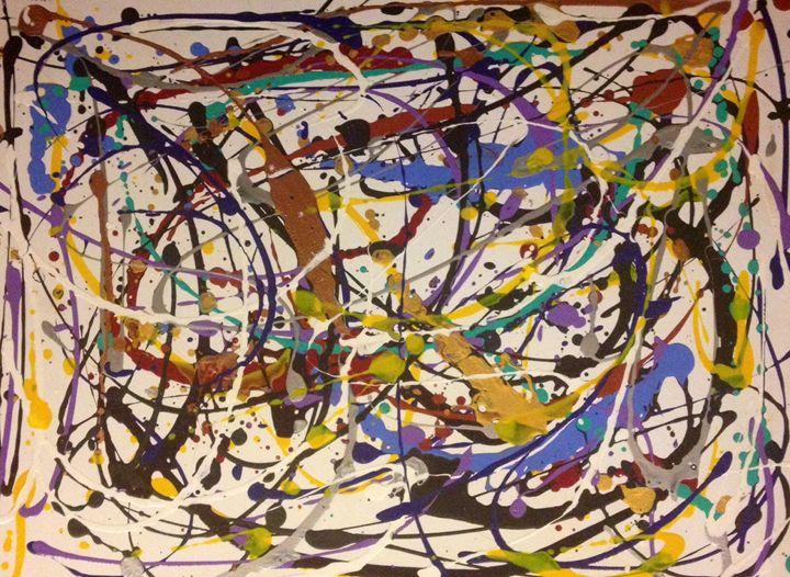 Pollock's Tribute - Kolene Parliman