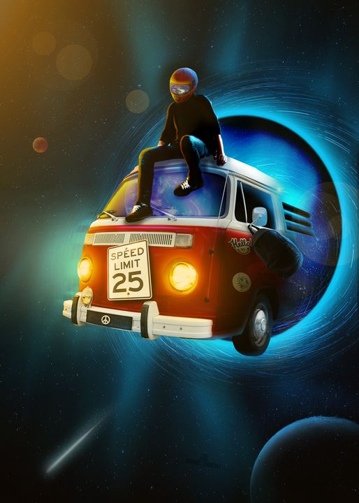Space Van Man - Honeycrisp