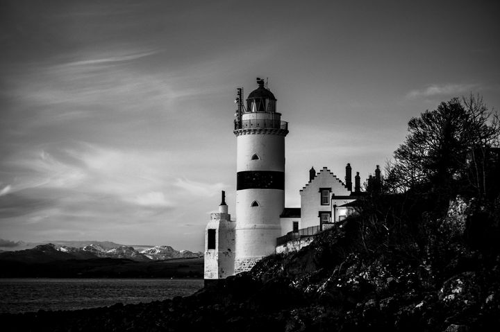 Cloch Lighthouse - SM Photography