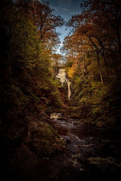 Scottish Waterfall - SM Photography