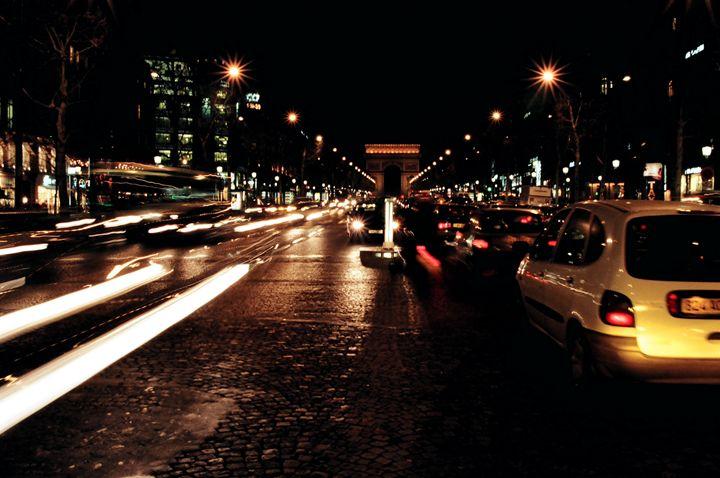 Champs Elysees in Paris - Rolf McEwen