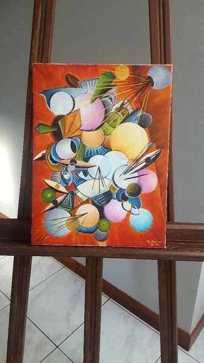 Painting on canvas - Abstract - Mes chefs-d'oeuvre