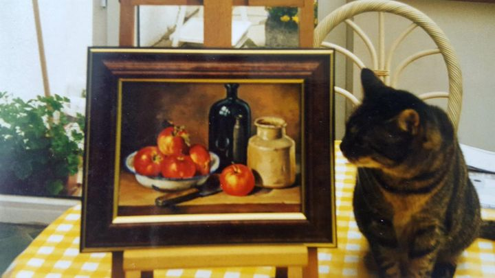 Still life - Oil painting - Mes chefs-d'oeuvre
