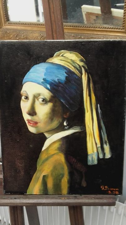 """""""Girl with a pearl Earring"""" - Mes chefs-d'oeuvre"""