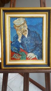 Portrait of Dr. Gachet by Van Gogh