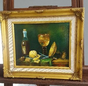 Oil painting - Still life