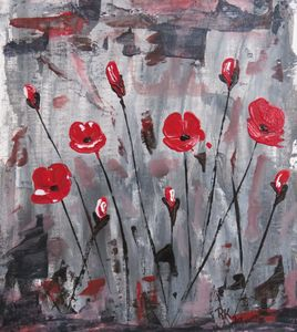 Abstract Poppies - RLKetner Kreations