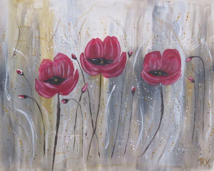 Popping Poppies - RLKetner Kreations
