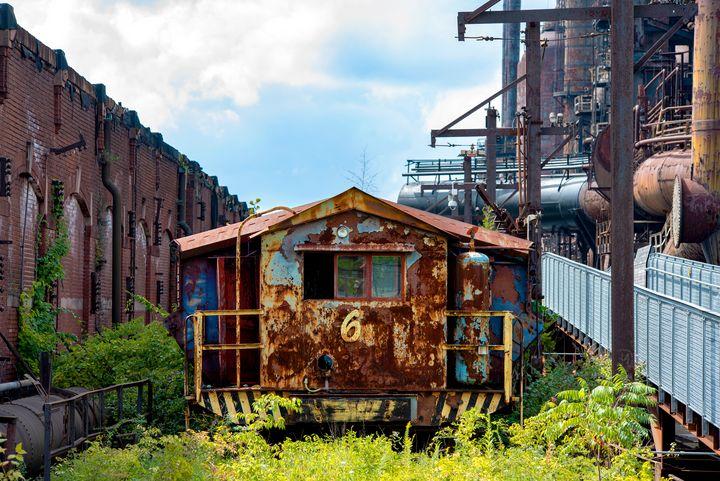 Number 6, Bethlehem Steel - Michael Barone Photography