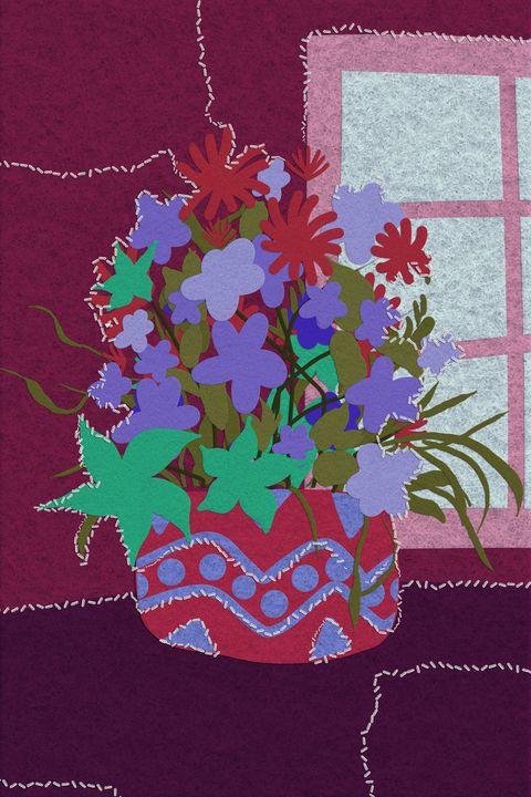 Felt Flowers - Johan 3D