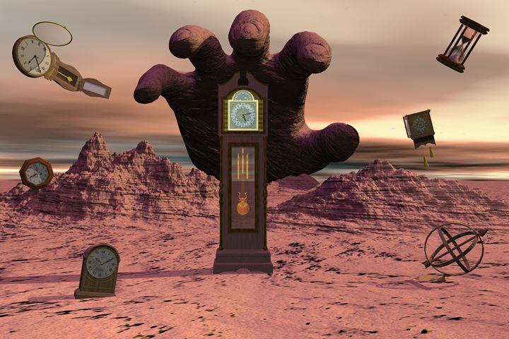 Time on Mars - The Alien TeaBag