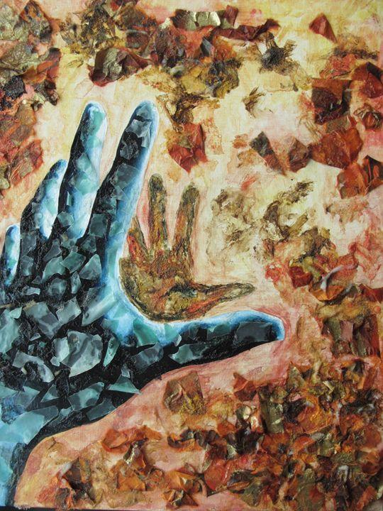 Reaching - Art by Sienna Tanner