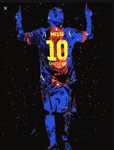 Lionel Messi art by Nixo