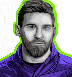 Messi #544 by Nixo