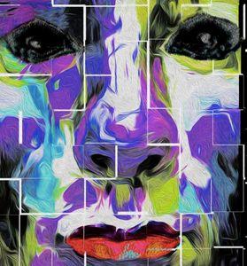 Nixo Ethan  Abstract painting and li