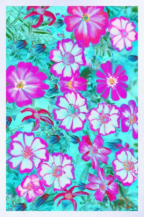 Flowers 11 - hadi hoss art