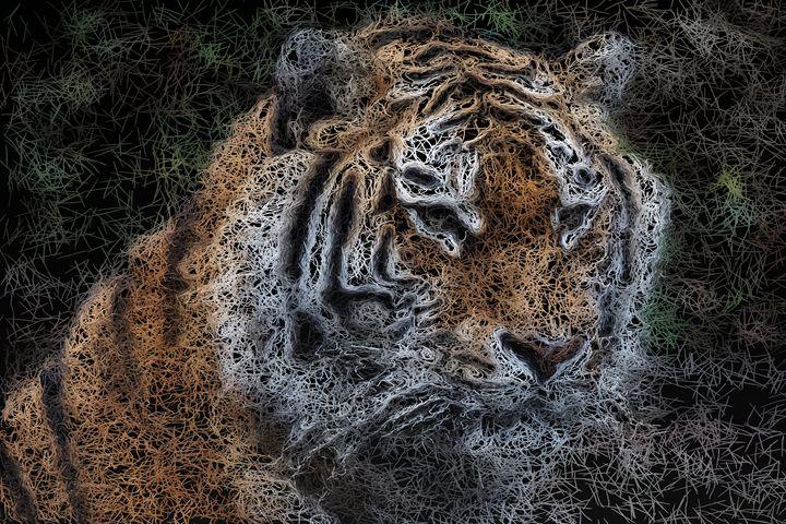 Bengal Tiger - PrintArt.US