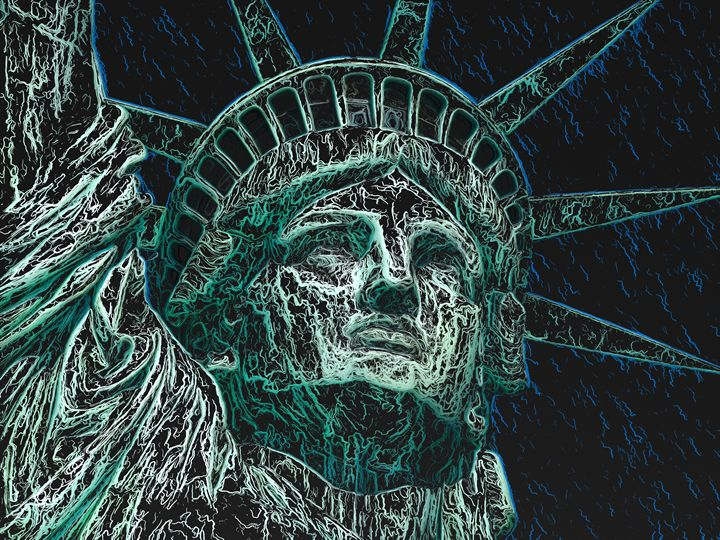 Lady Liberty - PrintArt.US
