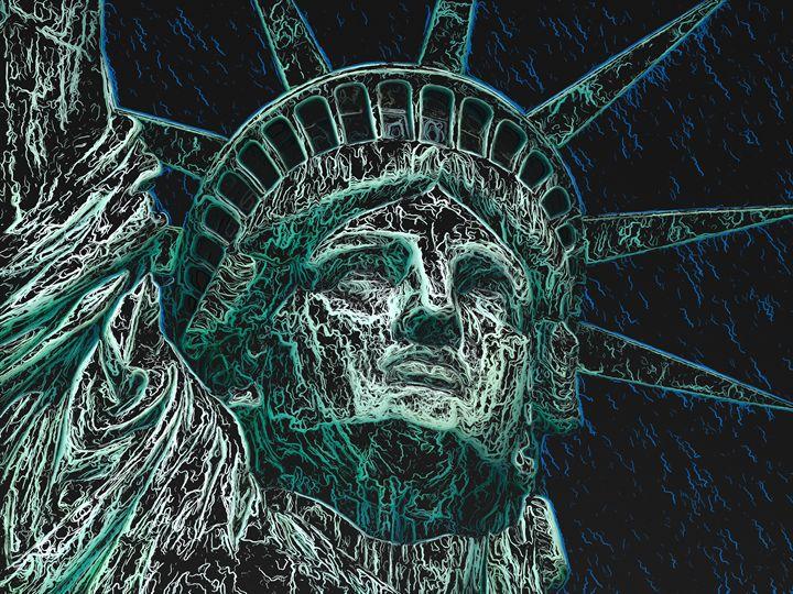 Lady Liberty - PrintArt.US