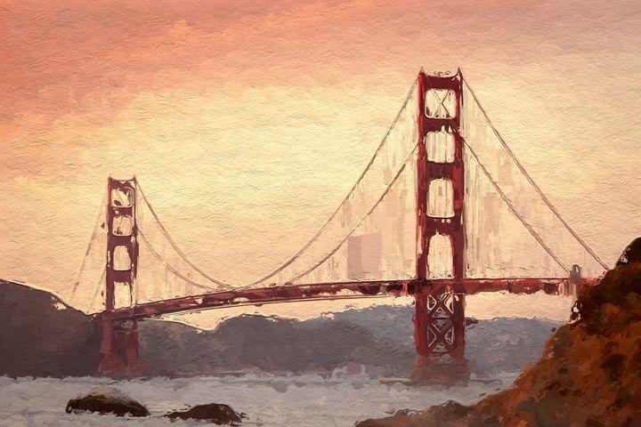 Golden Gate Inspiration. - PrintArt.US