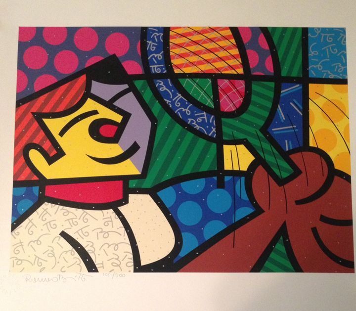 ROMERO BRITTO TENNIS SUITE (BOY) - serigraphs