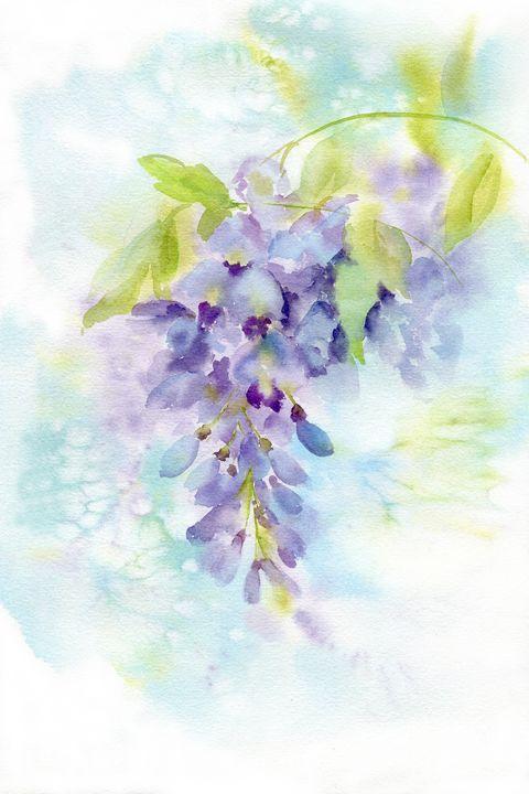 Wisteris blossom - NadezzzdaArt