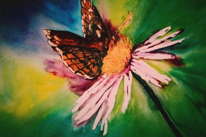 Butterfly fly away - Paintings by Breen Design