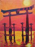 45x60 cm oil painting