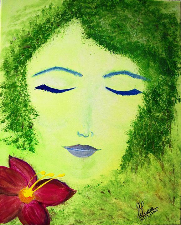 Gaea - Mother earth - Fun with Arts!