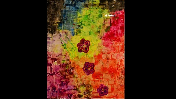Color bloom - Fun with Arts!