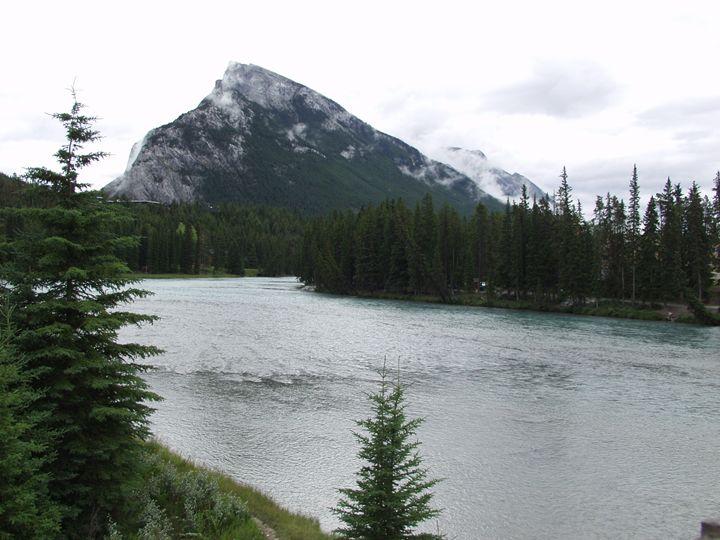 Banff River - Sharon Nolan Photography