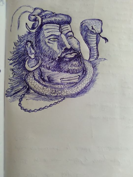 Lord Shiva - RJ Arts
