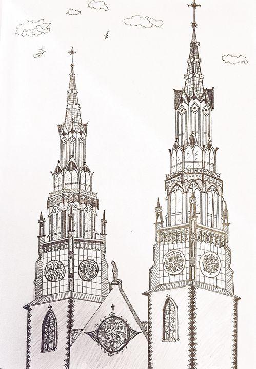 Notre-Dame Cathedral Basilica - L.A.Darwinci