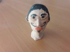 Salvador Dali bust
