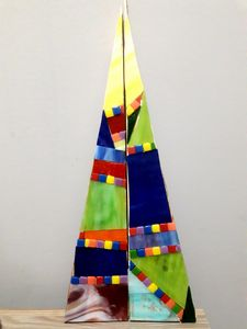 Christmas tree mosaic