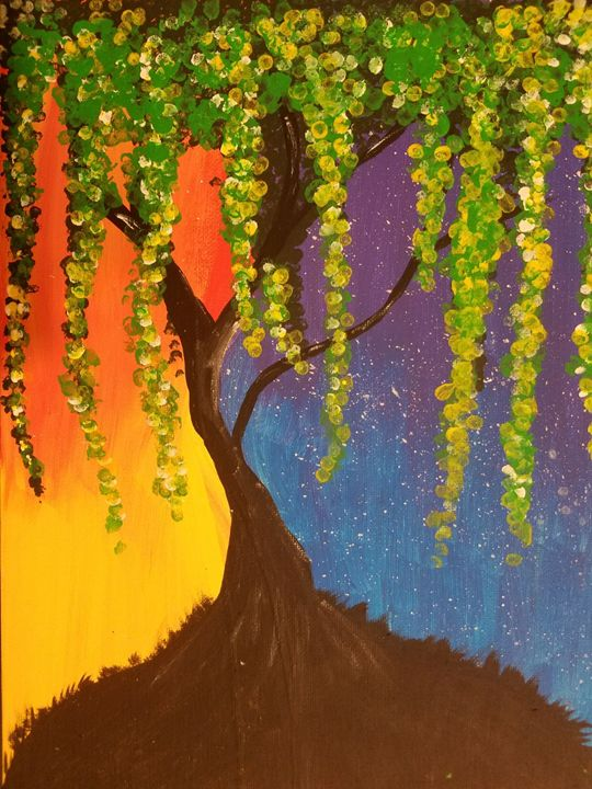 Colorful Tree - Seema's Creation