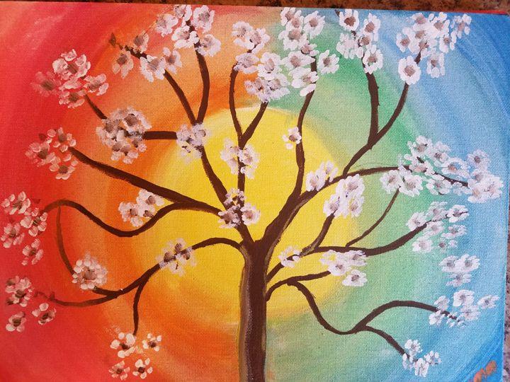 Rainbow Tree - Seema's Creation